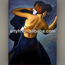 Best sale man and woman dance painting