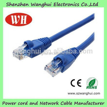 China Manufactured 4 pairs 24awg cat5e utp patch cord