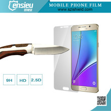 Full Cover 0.2mm 2.5D 9H Tempered Glass Screen Guard for Galaxy Note5