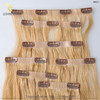 Aliexpress Hight Quality Products 2014 best selling Stock Price Clip In Hair Extension Full Head Set