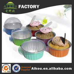 Wholesale disposable colorful round baking muffin cup cake cup