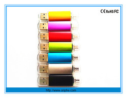 China factory wholesale reader gift otg usb flash drive mobile
