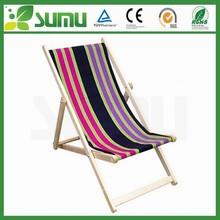 high quality antique wood beach chair