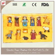 China Handmade Craft Wholesale Figures Decoration Nativity Craft