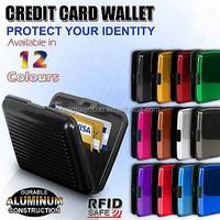 Waterproof Business ID Aluminum Credit Card Holder