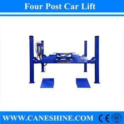 2015 CE&ISO 4000kg Garage Lift Equipment Home Use Hydraulic Wheel Alignment Four Post Platform Parking Car Lift Price CS-440