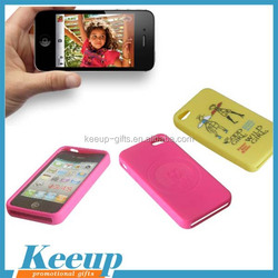 Customized promotional gifts clear silicone phone case for promotional gifts