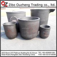 crucible graphite smelting zinc copper