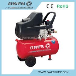 24L direct driven piston mini portable air compressor with CE,ROHS