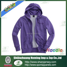 cotton and polyester blank hoodies