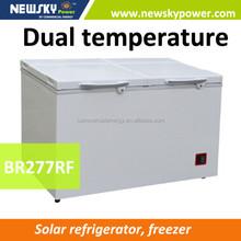 china supplier power upright freezer solar freezer