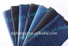 2012 Long Yi newest high fashion 100 cotton denim fabric for denim jeans