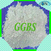 Ground Granulated Blast Furnace slag powder GGBS GGBFS instead of cement in concrete