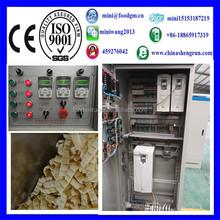 stainless steel snack food extruder/ corn snack food extruder/ hollow corn sticks making machine