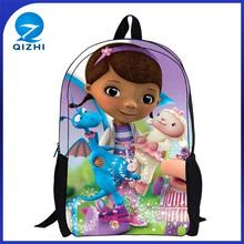 yiwu personalizado 3d chico agradable bolso de escuela para niñas