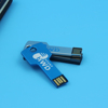 8GB USB Flash Drive Creative Key Shaped Mini 8G Memory Stick USB 2.0 U Disk - Silver