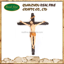 Wholesale Resin Jesus Cross, Christ Crucifix for Christmas