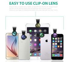 Mobile phone camera lens fisheye lens universal for phone for tablet
