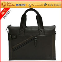 Men patent leather laptop bag computer bag 2012