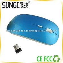 Wireless Flat Computer Mouse