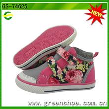 Nueva llegado zapatillas deportivas de bota de niños