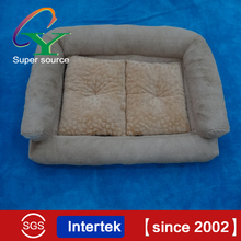 wholesale Luxury Soft Dog Sofa bed With Removable Cushion Pet Sofa