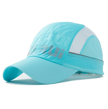 Women men outdoor sun hat sunscreen breathe freely baseball cap Omni-Dry caps