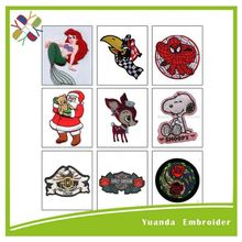 Fancy Embroidery designs and Embroidered Clothing Patch and Velcro Custom Patch