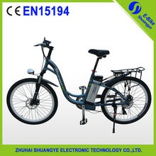 2015 Shuangye NEW brushless motor eletric adult bike