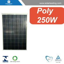 Solar panel 250w cheap price in china with black color 30V 36V output same with other famous mono quality