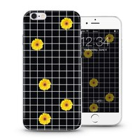 Simple grid custom design for iPhone 5s 6 plus case for Nubia Z9/Z9 mini case that populared in Japan and Korea