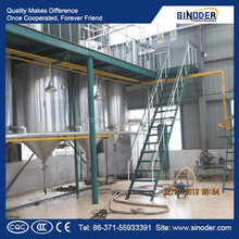 1T/D-100T/D edible oil refining machine oil refining equipment oil refinery work wear