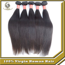 Can Be Dyed Any Color High Quality Indian Silky Straight 100% Human Hair Weave Indian Hair Wholesale