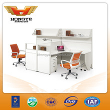 Office cubicle workstation , office 2 person workstation desk HY-P10