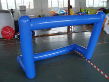 inflatable indoors soccer football goal