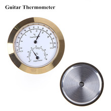 Guitar Violin Hygrometer Moisture Meter Humidity Monitor with 2 Measuring Unit Top Quality Guitar Accessories