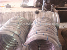 High Quality Galvanized Oval Steel Wire Export to Brazil market