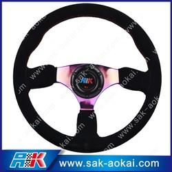 Grant aftermarket steering wheel black steering wheel for auto