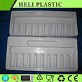 Farmacéutica embalaje blister / plástico medicinal vial bandeja interior