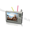 lcd picture frame alarm clock, table clock with pen holder