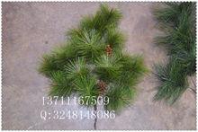 Guangzhou manufacture artificial pine branches / fake pine tree leaves / artificial branches with copetive price