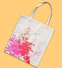 cheap custom cotton handle shopping bag/ men military cotton canvas bag