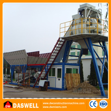 Sicoma mobile precast commercial fully automatical universal joint modular concrete mixing batching plant