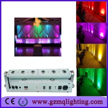 Party Decoration Event & Party Item Type and Wedding Occas washer led wedding decoration rgbwa uv stage 6pcs led wall uplighting