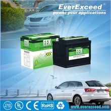 Hot sell Shenzhen EverExceed long life n100 12v 100ah dry charged auto car battery