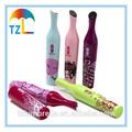 Novas invenções guarda-chuva personalizado, vinho garrafa de guarda-chuva para o presente