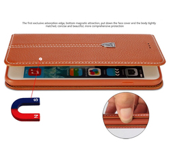 Business Innovative ideas phone Case for iphone, leather wallet card holder case with high quality
