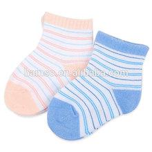 cable de alta calidad de punto de bebé calcetines