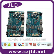 High quality Amlogic S802 quad core mainboard with 3g/BT for bus advertising display