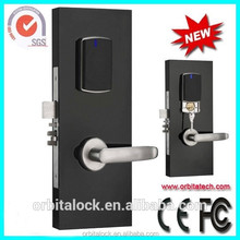 USA/European Mortise Lock Hotel electric Sliding Door Lock